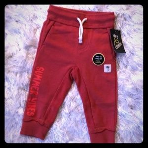 NEW Toddler Boys' 'Summer Vibes' Pull-On Joggers